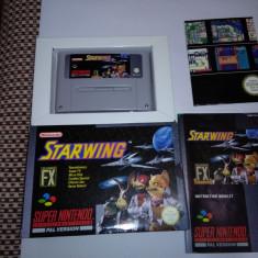 Snes Starwing super nintendo caseta joc star wing - Jocuri Nintendo 3DS