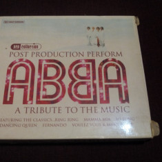 CD ABBA A TRIBUTE TO THE MUSIC 2 CD, VINIL