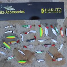 Set 30 Lingurite Hakuyo Pike Pentru Rapitor Diverse Modele Diferite Plansa - Naluca Pescuit