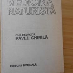 PAVEL CHIRILA--MEDICINA NATURISTA - 1987