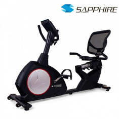 Bicicleta magnetica Recumbent Signum - Bicicleta fitness SPORTMANN