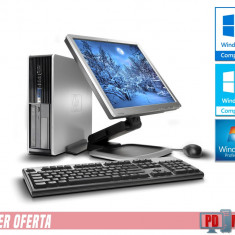 Kit Calculator HP 6005 Athlon II X2, 2 GB DDR3 HDD 160 GB + Monitor 17