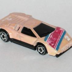 Hot Wheels - Micro Color Racers - Lamborghini Countach 1/87 - Macheta auto Alta