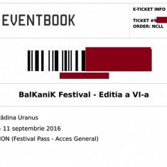 Invitatie Balkanik Festival