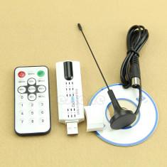 TV Tuner DVB-C -T-T2 USB 2.0 nou cablu UPC, RDS, (DVBC canale SD, HD) HDTV ! - TV-Tuner PC