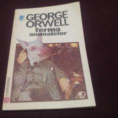 GEORGE ORWELL - FERMA ANIMALELOR - Roman