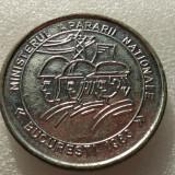 MINISTERUL APARARII NATIONALE-MEDALIA CONCURS DE PROTECTIA MUNCII- - Medalii Romania, An: 1983