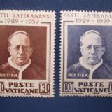 VATICAN=SERIE 1959 NESTAMPILATA==MNH