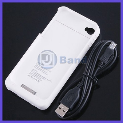 Husa cu baterie externa , pentru IPHONE 4 ! Incarcator PORTABIL !! foto