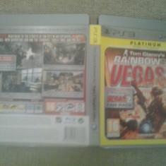 Tom Clancy's Rainbow Six - Vegas 2 PLATINUM - PS3 - Jocuri PS3, Shooting, Toate varstele, Multiplayer