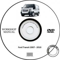 Ford Transit 2007 - 2010 Workshop Service Manual + Schema Electrica - Manual auto