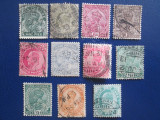 ANGLIA/COLONIE INDIA LOT STAMPILAT VECHI