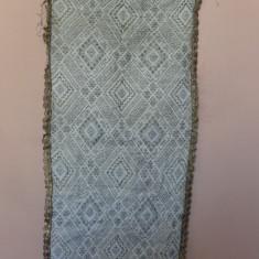 CATRINTA TESUTA CU FIR METALIC - Costum popular