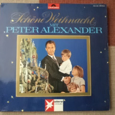 Peter Alexander Schone Weihnacht Mit Polydor records Muzica Pop Altele disc vinyl lp, VINIL