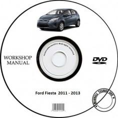 Ford Fiesta 2011 - 2013 Service Manual + Schema Electrica - Manual auto