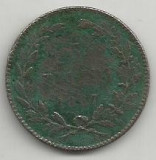 ROMANIA  5  BANI  1867  HEATON   [2]  Livrare in cartonas, Cupru (arama)