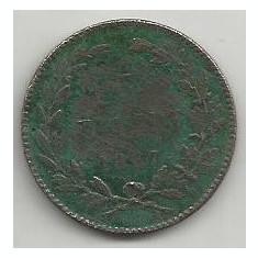ROMANIA 5 BANI 1867 HEATON [2] Livrare in cartonas - Moneda Romania, Cupru (arama)