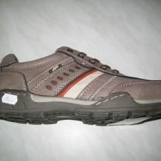 Pantofi barbati WINK;cod LY5285-1;marime:41-46 - Pantof barbat Wink, Marime: 44, Culoare: Gri, Piele sintetica