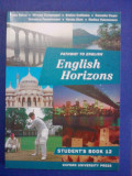 Student's book 12 - English Horizons / C28P