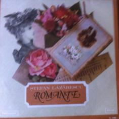 Stefan lazarescu romante disc vinyl lp muzica populara romaneasca electrecord, VINIL