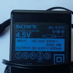 INCARCATOR SONY PENTRU PSP . 4,5 V-500 mA