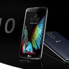 LG K10 16GB Negru - Telefon LG, Auriu, Neblocat, Single SIM