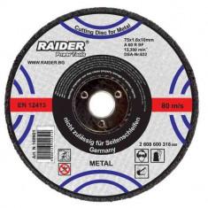 Disc pentru taiere metal 125 x 3.2 mm