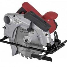Fierastrau circular de mana 1300 W cu laser Raider Power Tools