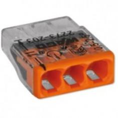 Conector Doza Wago 3x2.5 solid - Accesoriu instalatie electrica