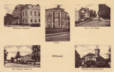 FALTICENI , PRIMARIA , POSTA ,STR.I.G.DUCA ,STR.REGELE CAROL II ,SC. POMICULTURA, Circulata, Printata