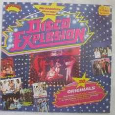 Various – Disco Explosion _ vinyl, LP, Germania _ pop rock, disco anii'70 - Muzica Dance Altele, VINIL