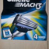 Rezerve Gillette Mach 3 set de 4 buc