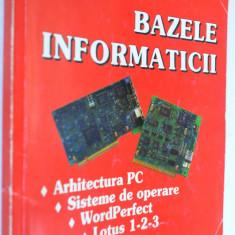 Bazele informaticii - Ed. Calipso 2000 - Carte Informatica