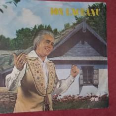 ION LACEANU -DISC FARA ZGARIETURI . - Muzica Lautareasca electrecord, VINIL