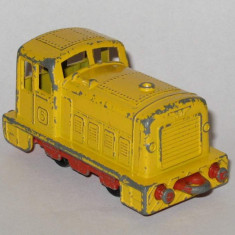 Matchbox - Locomotiva Shunter - Macheta Feroviara, Locomotive