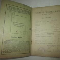 Carnet de asigurare (1944), Romania 1900 - 1950