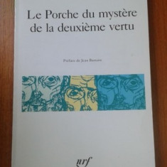 CHARLES PEGUY - LE PORCHE DU MYSTERE DE LA DEUXIEME VERTU - Carte poezie