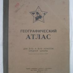 Atlas Geografic In Limba Rusa (1949)