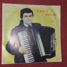 IONICA MINUNE - ACORDEON, VINIL FARA ZGARIETURI . - Muzica Lautareasca electrecord