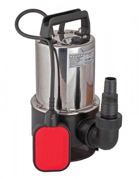 Pompa submersibila cu plutitor pentru ape uzate 1100 W Raider Power Tools RD-WP13 foto mare