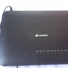 ROUTER HUAWEI GPON ECOLIFE HG8242 + INCARCATOR - Router wireless, Porturi LAN: 4