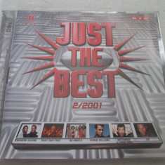 Various – Just The Best 2/2001 _ dublu cd,Germania, ariola