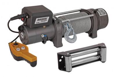 Troliu Electric 12V x 3620 kg x 4200 W telecomanda pe fir Raider Power Tools RD-EW07 foto