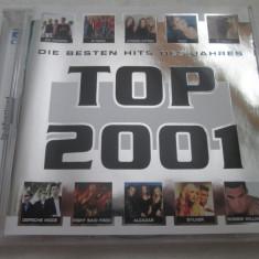 Various - Top 2001 _ dublu cd, Israel - Muzica Dance Altele