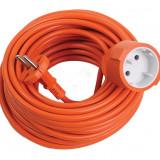 Prelungitor 20 m portocaliu cu o priza Makalon - Cablu si prelungitor