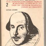 Shakespeare-Titus Andronicus*Comedia Erorilor*Imblinzirea Scorpiei vol.2 - Carte Teatru