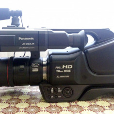 Camera video Profesionala FULL HD Panasonic AG-AC8 + Geanta + Lampa - Camera Video Panasonic
