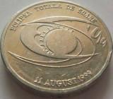 Moneda 500 Lei - ROMANIA, anul 1999 *cod 1587 Allu-XF ECLIPSA, Aluminiu