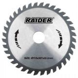 Disc pentru taiere lemn 115 mm 24 dinti Raider