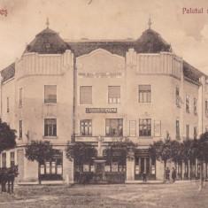 CARANSEBES, PALATUL CASIMA ROMANA, PRIMA CASA DE PASTRARE DIN CARANSEBES - Carte Postala Banat dupa 1918, Circulata, Printata